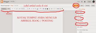 editor blogger atau blogspot
