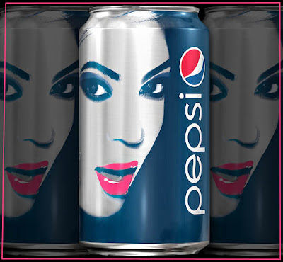 Beyonce on Pepsi Cans
