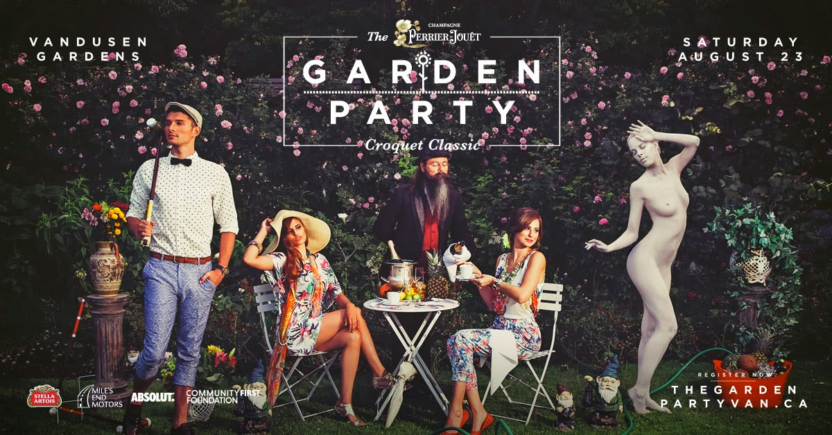 Garden Party Van - Saturday Aug 23