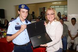Prefeita Maria Cecilia Marchi Borges