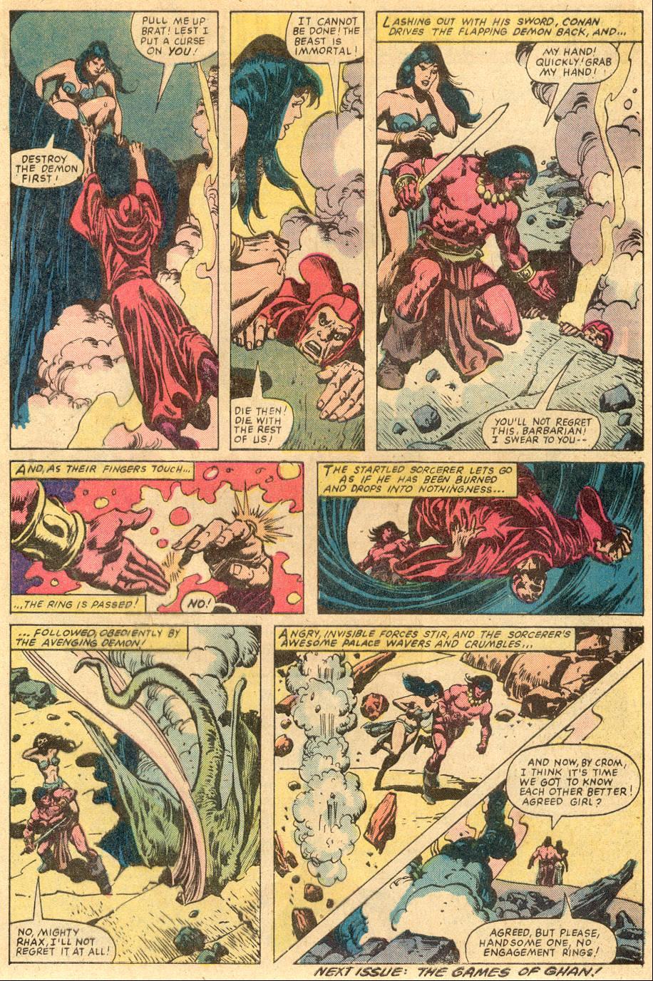 Conan the Barbarian (1970) Issue #131 #143 - English 22