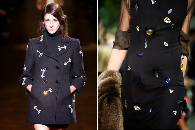 Как украсит черное пальто