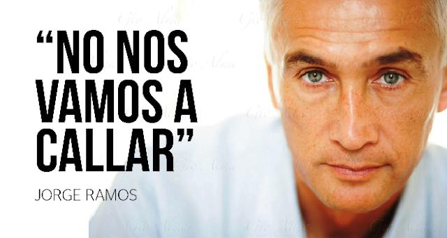 Jorge Ramos, un periodista que reta al poder