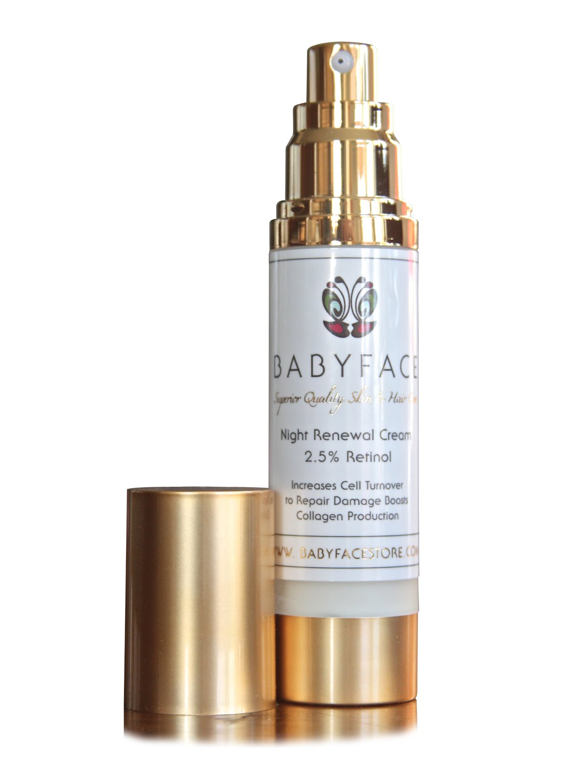Babyface Night Renewal Retinol Cream