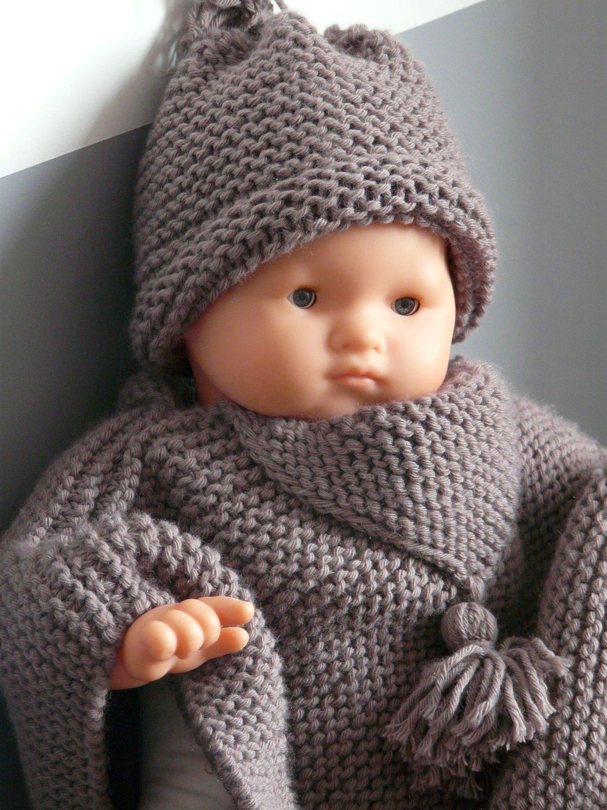 CHAPITRE 5 Echarpe bébé. Modèle gratuit.  L'atelier tricot de Mam' Yveline.
