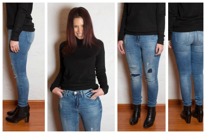 Denim JEANS Guide &amp River Island - Caroline&39s Fashion Styling