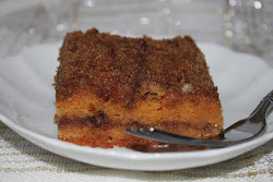 Butterscotch Coffee Cake