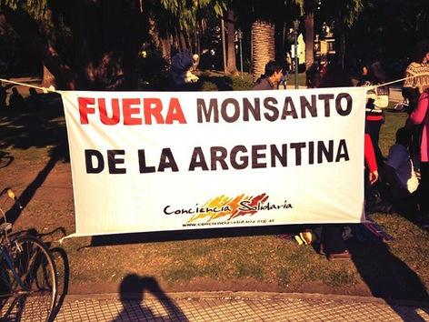 Marchas contra Monsanto por todo el mundo el 25 de Mayo 2013 Monsanto+Argentina