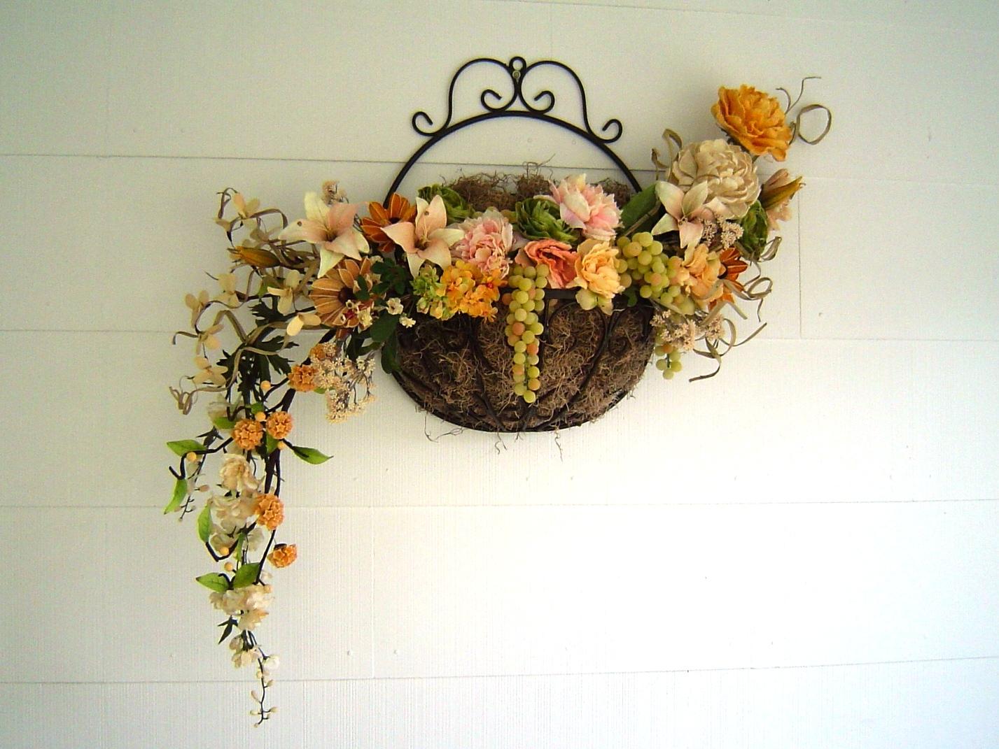 Сделать своими руками искусственные цветы