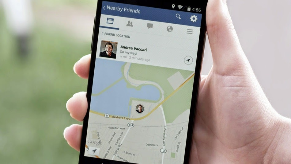 nearby friends can track your geographic location information and tell your friends where are you