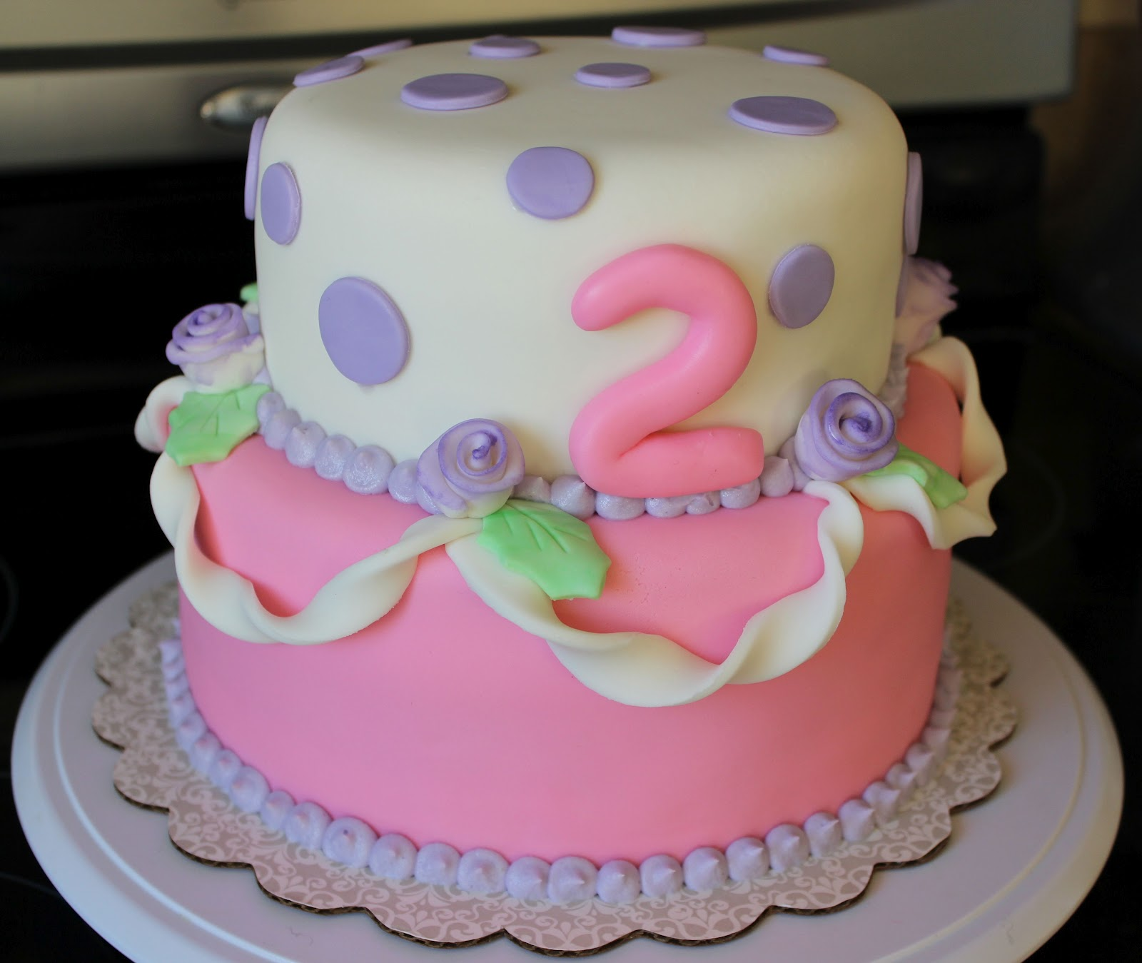 A Pink And Purple Birthday