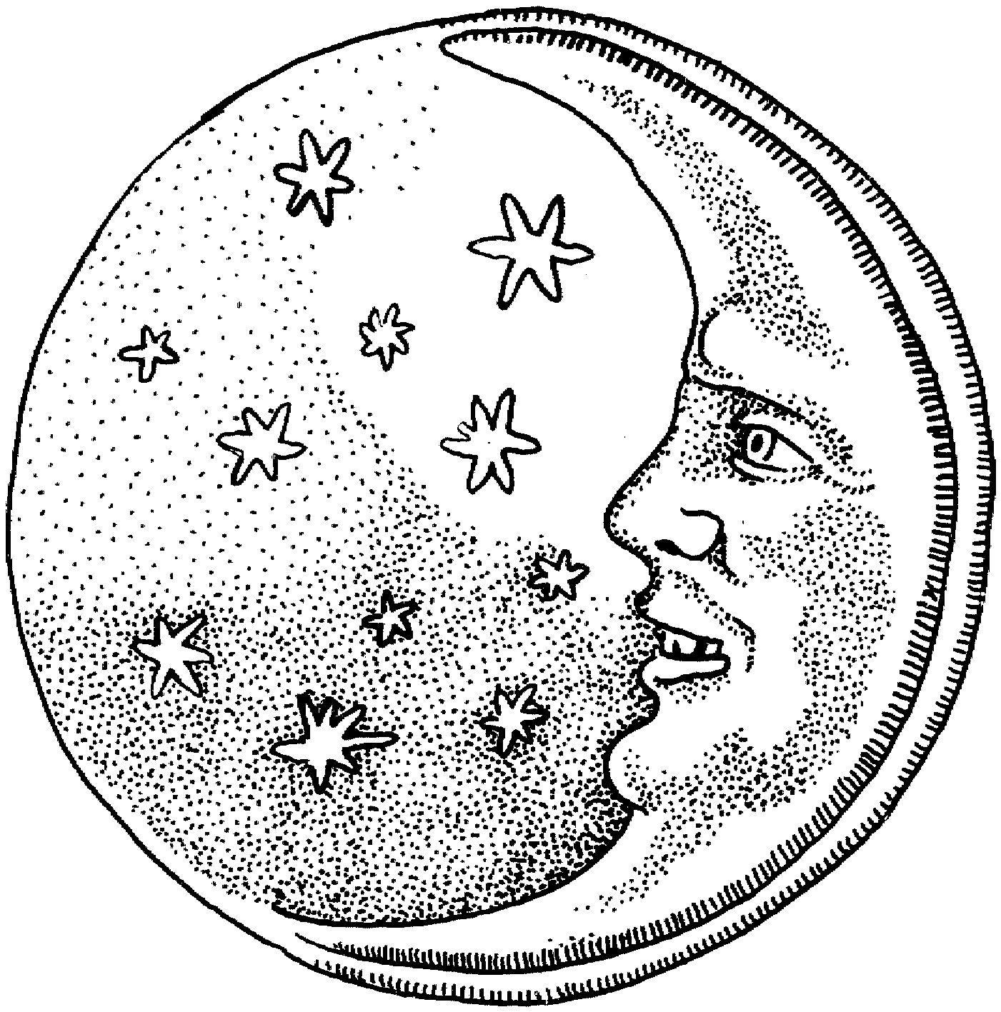 En direct de l 39 intestin gr le la vision - Dessin de lune ...
