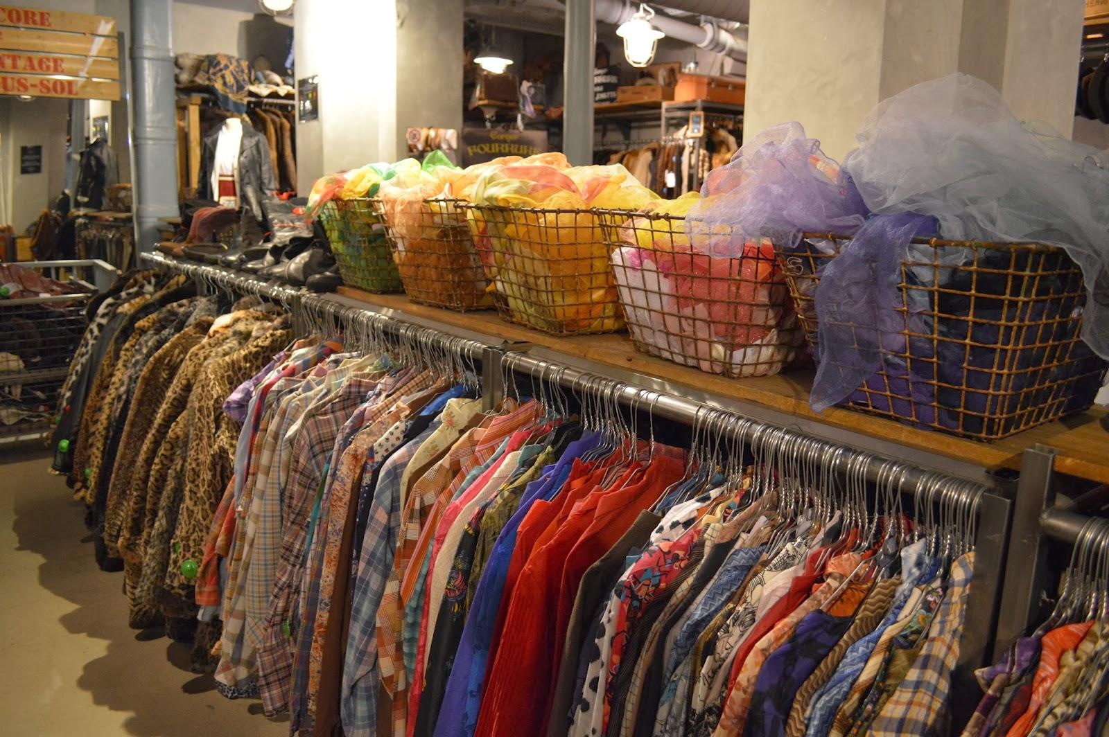 Kilo Shop Vintage shopping in Le Marais Paris