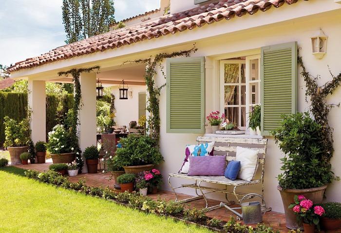 Estilo rustico galerias rusticas rustic style porches - Fotos porches rusticos ...