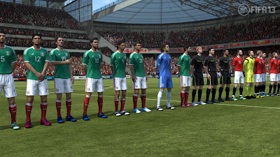 FIFA 13 Career Mode - International Friendly