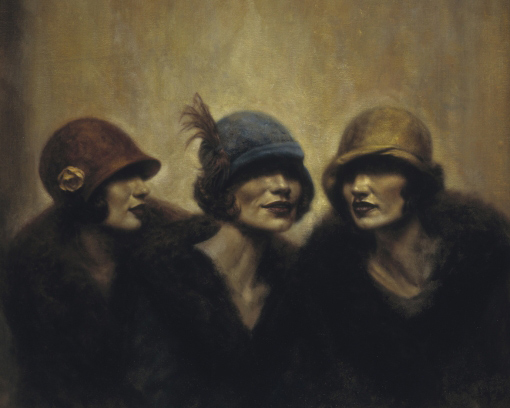 Doctor Ojiplático. Hamish Blakely. The Roaring Twenties. Pintura | Painting