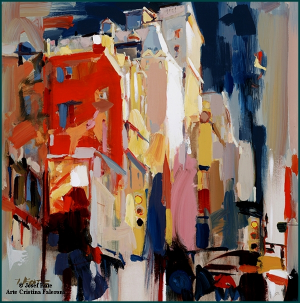 Painter Josef Kote