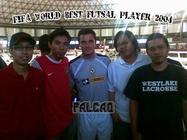Wordless Wednesday Falcao Best Futsal Player