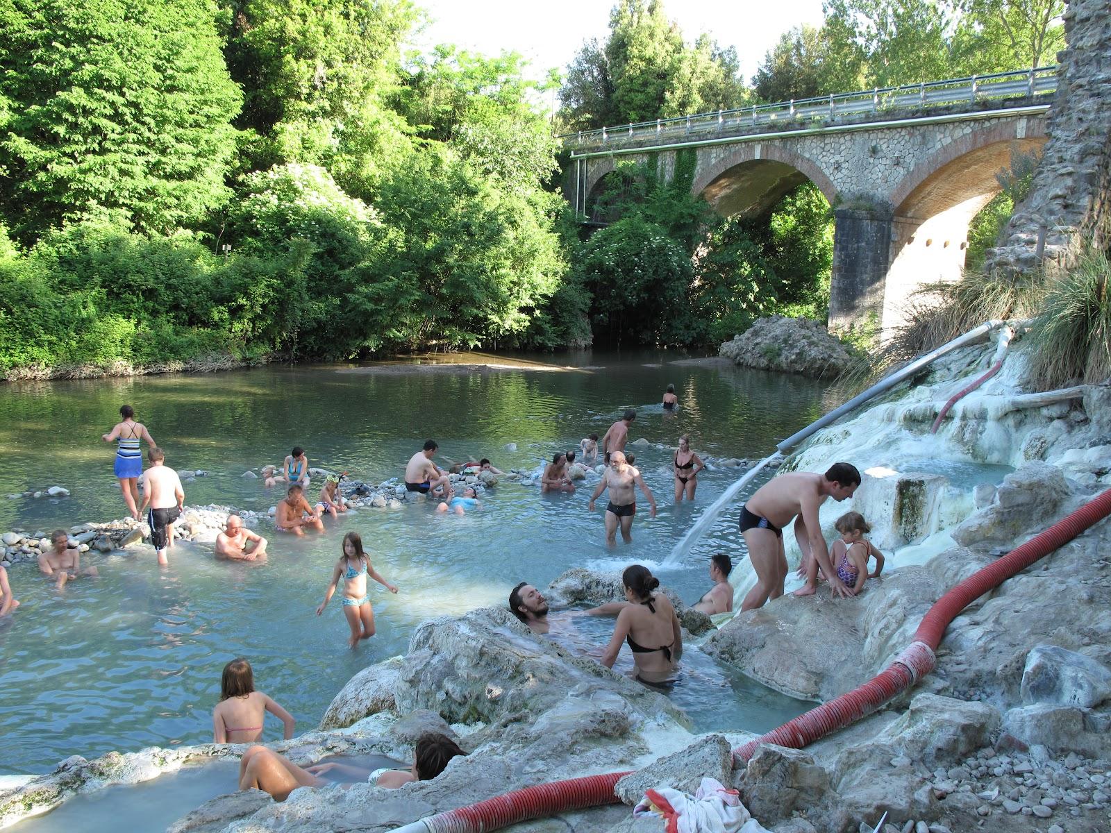 Toscana tuscany toskana luglio 2012 - Bagni di petriolo ...