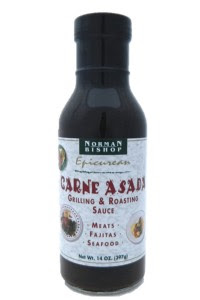 Norman Bishop Carne Asada Grilling and Roasting Sauce