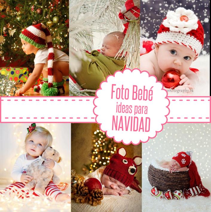 Mamágym: Ideas para hacer fotos al bebé esta navidad!