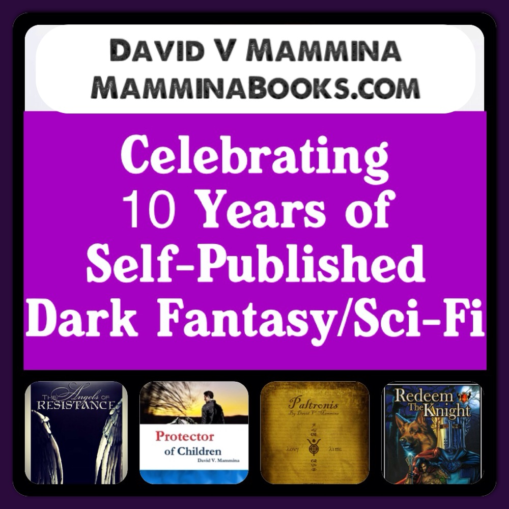Celebrating 10 Years in Self-Publishing Dark Fantasy/Sci-Fi