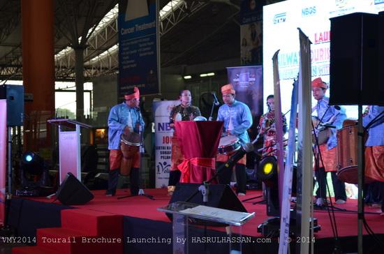 Pelancaran Pakej Rail Tourism VMY2014
