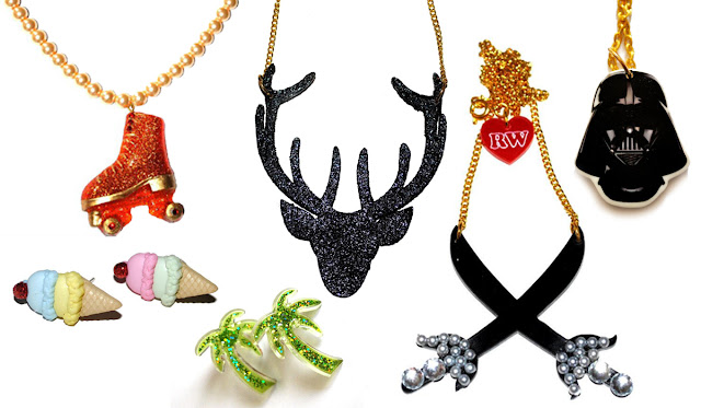 jewellery, kitsch, cute, shiny