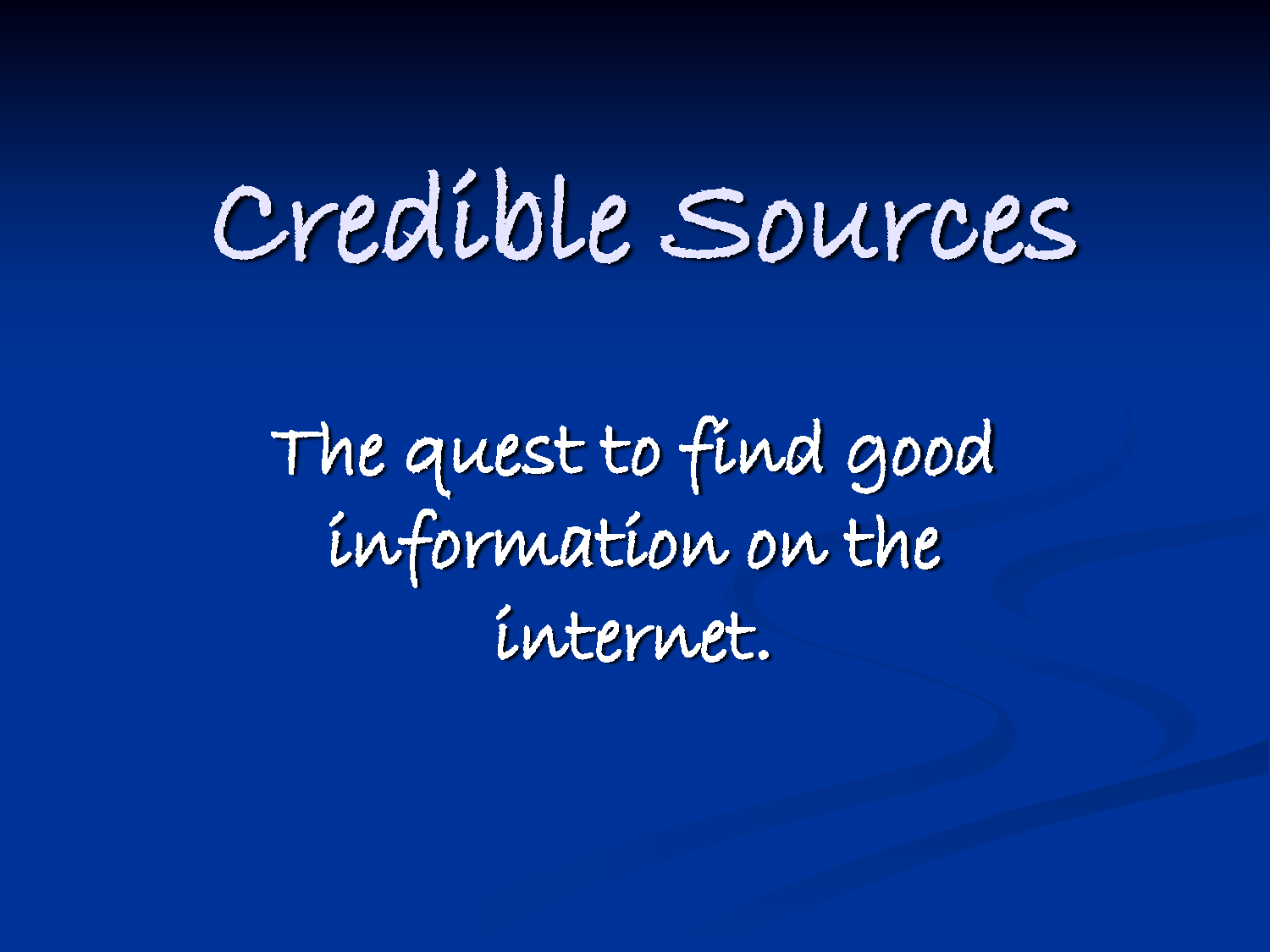 wikipedia a credible source Is wikipedia a credible resource should you use wikipedia as a credible resource no  as the easiest source of.