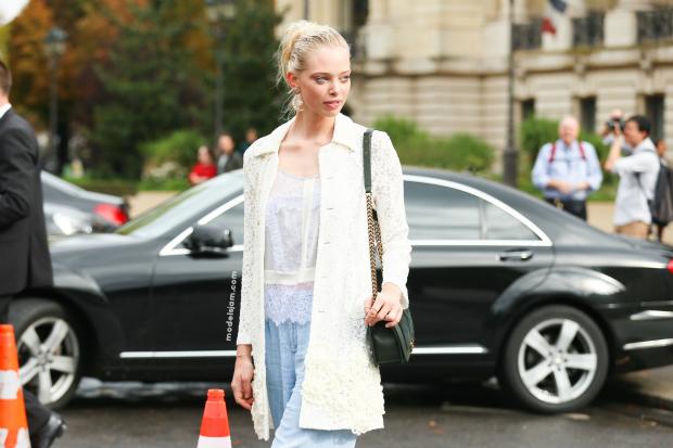 Tanya D after Chanel, Paris, October 2015