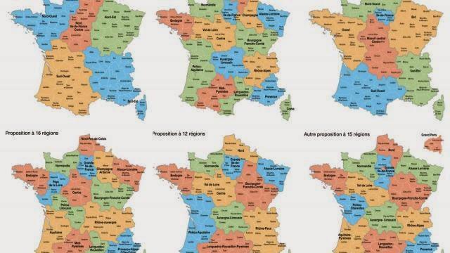 Régions, départements : non au charcutage territorial de la France !