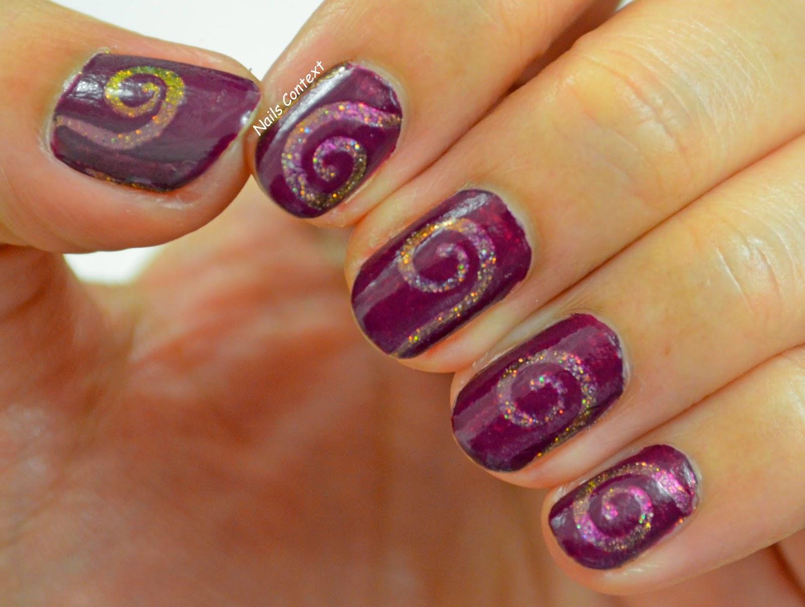 Nails Context: Swirls