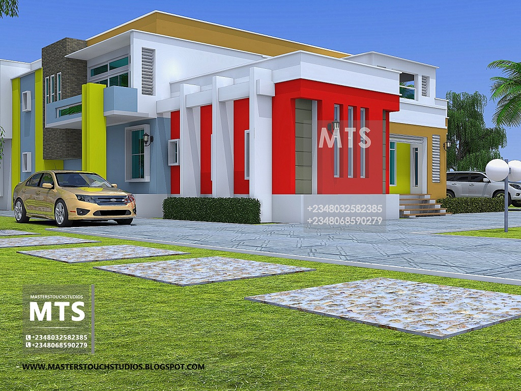 Mr ifedu 6 bedroom duplex residential homes and public 6 bedroom duplex house plans