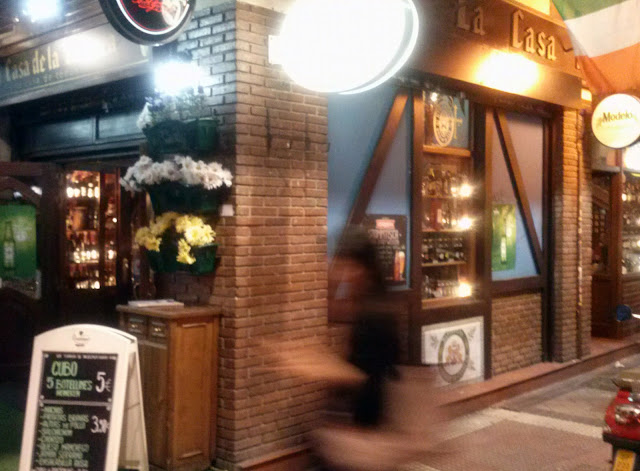 La Casa de la Cerveza, exterior.