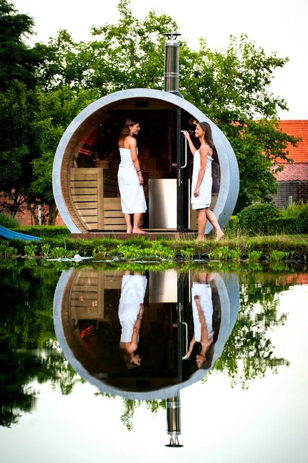 EOSK2 - Eclipse - Outdoor Sauna - Kurt de Keyser