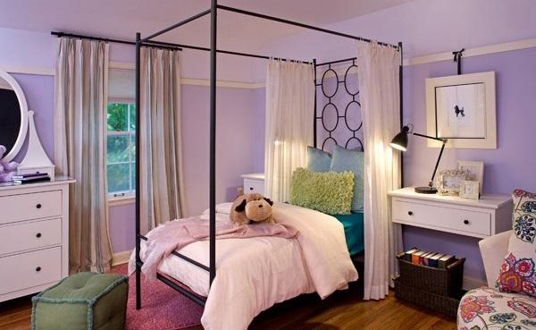 ide warna warna indah untuk kamar tidur desain rumah