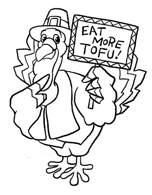 Funny Thanksgiving Turkey Coloring Pages Printable