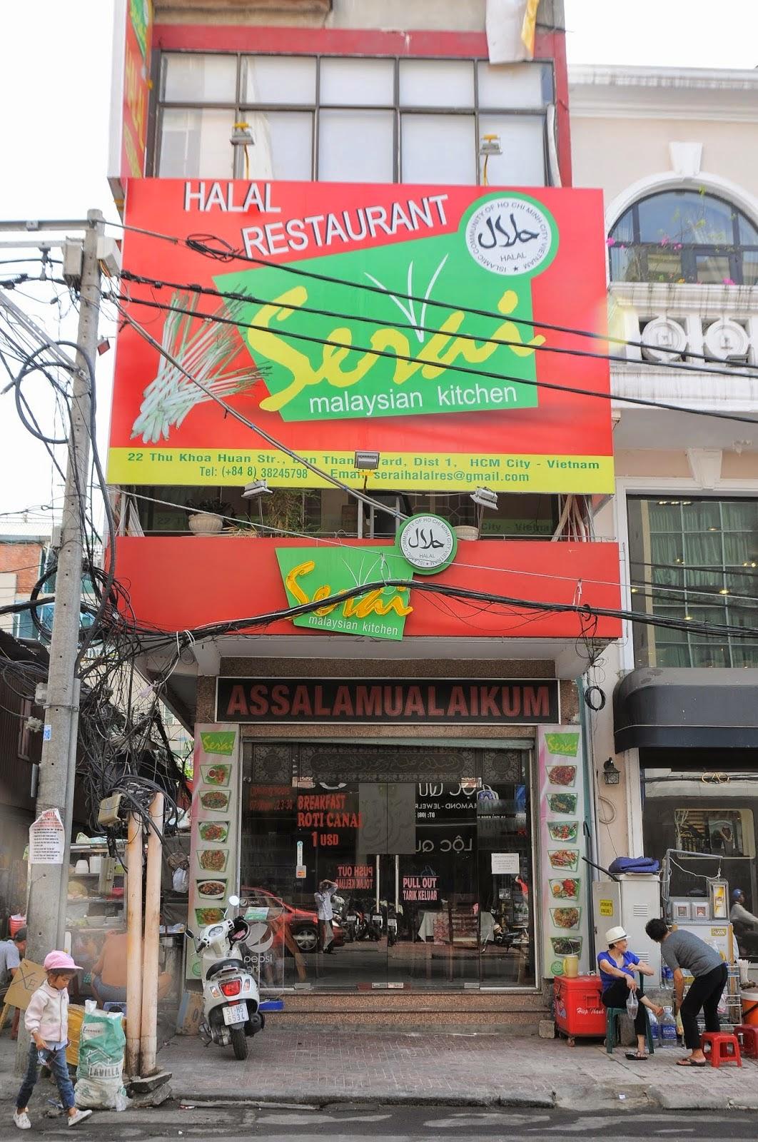 muslim tour vietnam halal restaurants in saigon. Black Bedroom Furniture Sets. Home Design Ideas