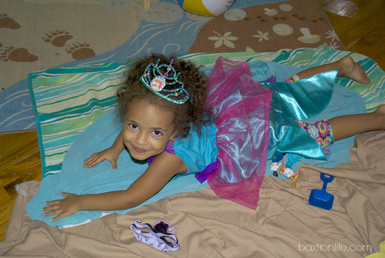 Disney Princess Little Mermaid Costume and Tiara #shop