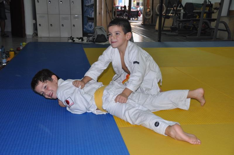 Judo infantil en Palma de Mallorca