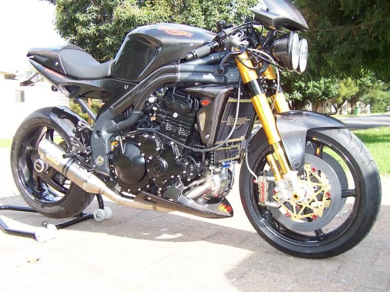 Motorcycle Turbo Kits : Triumph speed triple turbo auto car