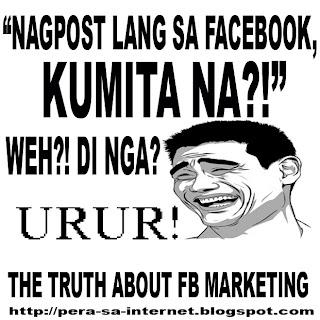 Nagpost lang sa Facebook, Kumita na?