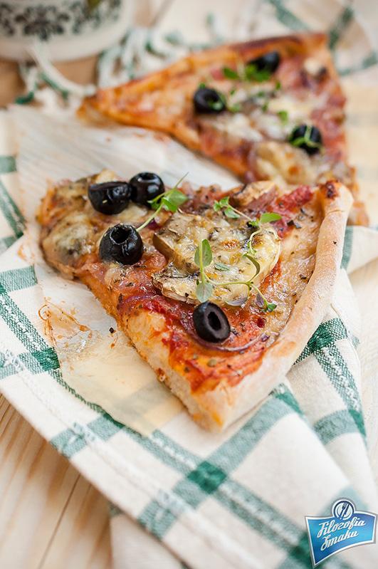 Pizza na cienkim spodzie przepis