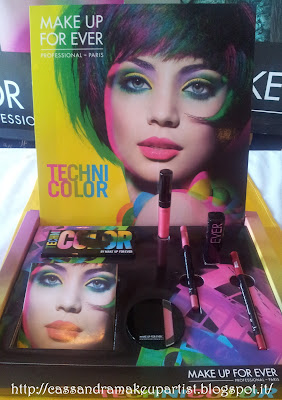 TECHNICOLOR - Make Up For Ever - Mufe - palette