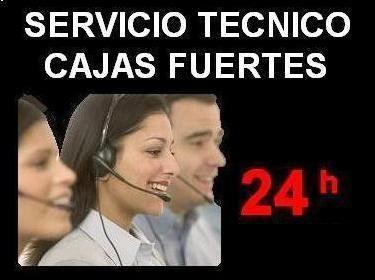 SERVICIO TECNICO 24h CAJAS FUERTES
