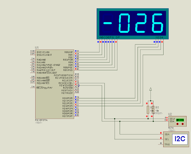 Projeto 16: Termômetro Digital via I2C