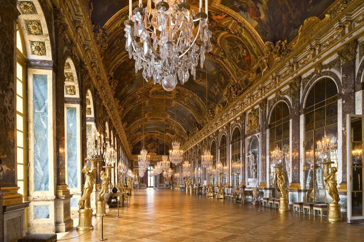 viajero turismo conoce el palacio de versalles en francia