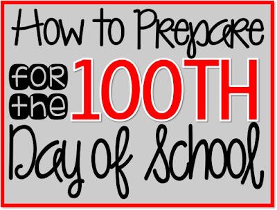 How to Prepare for the 100th Day of School, Time4Kindergarten, 100th day of school activities for kindergarten