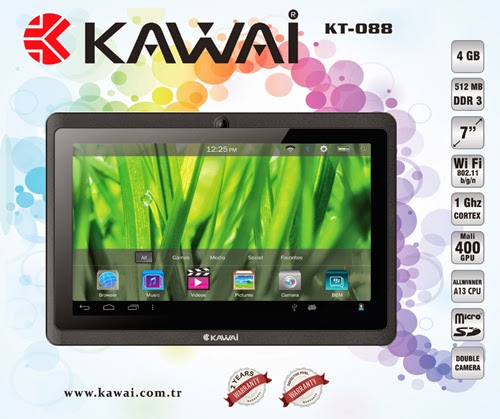 Ucuz Android Tablet Kawai KT-088
