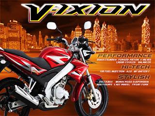 Menjual Spare Part dan Suku Cadang Yamaha Motor Original Murah: Spesifikasi Vixion 2007-2012 dan Vixion 2015